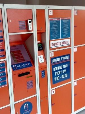 Depósito de bagagem Estação de Bolonha